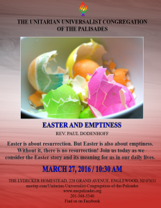 Easter and Emptiness
